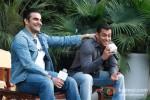 Arbaaz Khan And Salman Khan at Dabangg 2 Press Meet in Delhi Pic 7