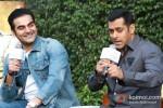 Arbaaz Khan And Salman Khan at Dabangg 2 Press Meet in Delhi Pic 2