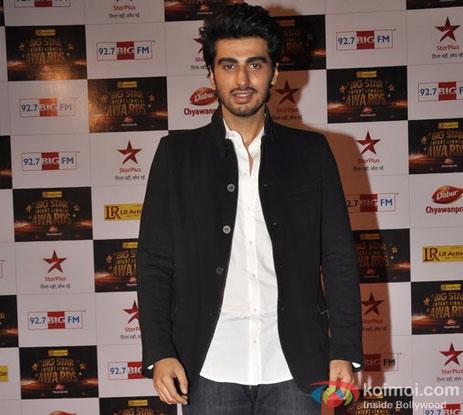 Arjun Kapoor At Big Star Entertainment Awards 2012