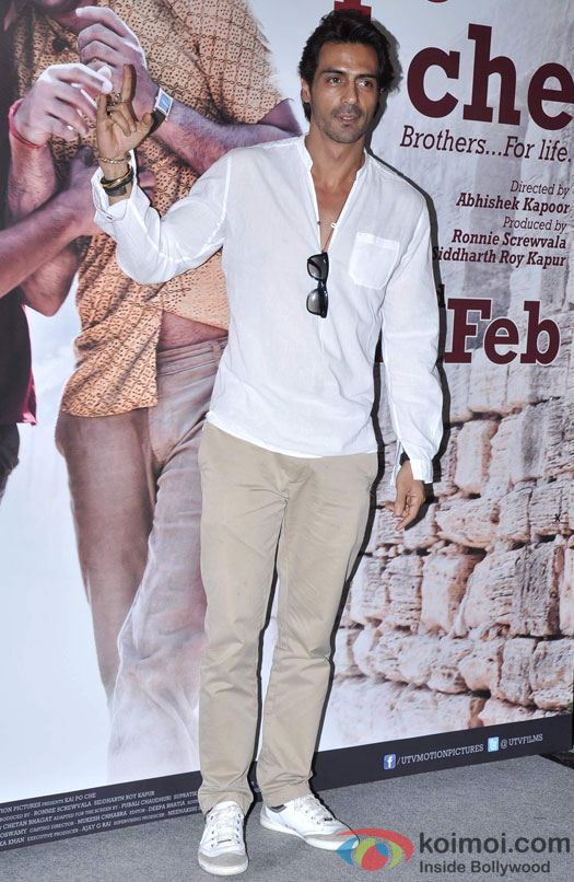 Arjun Rampal At Kai Po Che! Movie Trailer Launch Event