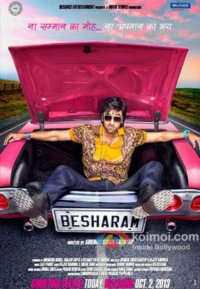 Besharam Movie Poster