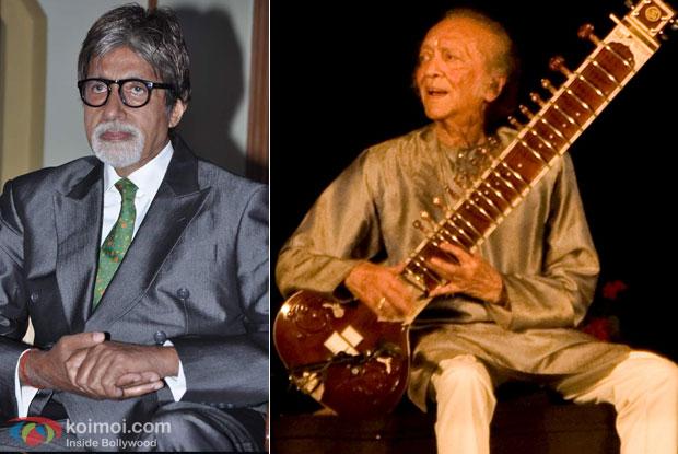Amitabh Bachchan and Pandit Ravi Shankar