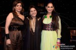 Bina Aziz And Lucky Morani spotted at Kavita Seth's live concert
