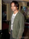 Bollywood actor Prashant Narayanan at the first look of film Mumbai Mirror in PVR Cinemas Juhu, Mumbai