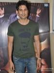 Bollywood actor Rajeev Khandelwal promote film Table No. 21at Mithibai College Festival in Juhu Mumbai Pic 1