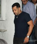 Bollywood actor Salman Khan at Arbaaz Khan's wedding anniversary party at Olive in Bandra, Mumbai Pic 3