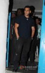 Bollywood actor Salman Khan at Arbaaz Khan's wedding anniversary party at Olive in Bandra, Mumbai Pic 2