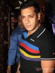 Bollywood actor Salman Khan at Sunny and Anu Dewan`s Christmas Party in Mumbai
