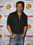 Bollywood actor Sunil Shetty at the 1st Bright Awards Night 2012 at Hotel Peninsula Grand in Saki Naka, Mumbai Pic 1