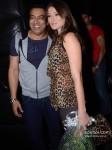 Bollywood actor Vindu Dara Singh and Dina at her birthday party celebration in Mumbai