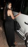 Bollywood actress Amrita Arora at Arbaaz Khan's wedding anniversary party at Olive in Bandra Mumbai Pic 1