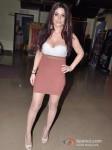 Bollywood actress Gihana Khan at the first look of film Mumbai Mirror in PVR Cinemas Juhu, Mumbai Pic 4