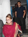 Bollywood actress Helen at Arbaaz Khan's wedding anniversary party at Olive in Bandra Mumbai