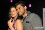 Bollywood actress Sambhavna Seth with Avinash Dwivedi at her birthday party celebration in Mumbai 1