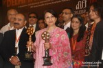 Bollywood actress Sharmila Tagore at a press conference for 1st Delhi International Film Festival in New Delhi Pic 2