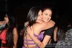 Bollywood actresses Sambhavna Seth and Monica Bedi at her birthday party celebration in Mumbai