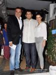 Boman Irani And Tisca Chopra at Sanjay Chopra's book launch