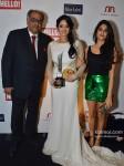 Boney Kapoor, sridevi And Jahnavi Kapoor At Grace Hello Awards 2012