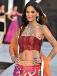 Bruna Abdullah walks for Shouger Merchant Doshi at India Resort Fashion Week 2012 Pic 1