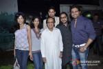 Chandi Perera, Reshma Gangji And Riyaz Gangji At Ghulam Ali's Birthday Celebration
