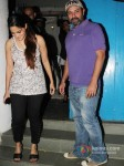 Director Atul Agnihotri And Alvira Agnihotri at Arbaaz Khan's wedding anniversary party at Olive in Bandra, Mumbai