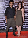 Eijaz Khan at the launch of 'Superdry'