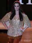 Evelyn Sharma walk for Rocky S at India Resort Fashion Week 2012 Pic 4
