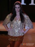Evelyn Sharma walk for Rocky S at India Resort Fashion Week 2012 Pic 3