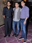 Farhan khtar, Aamir Khan Ritesh Sidwani At Talaash success bash