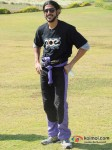 Farhan Akhtar at Aamby Valley Skydiving event Pic 3