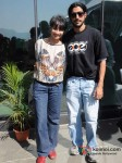 Farhan Akhtar at Aamby Valley Skydiving event Pic 5