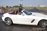 Farhan Akhtar at Star Drive grand finale Pic 9
