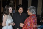Farida Udhas And Pankaj Udhas At Grace Ustad Amjad Ali Khan's Book Launch