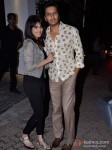 Genelia D'souza Deshmukh And Ritesh Deshmukh At Imran Khan's House Warming Bash