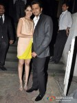 Genelia D'souza Deshmukh And Ritesh Deshmukh At Yuvraj Singh's Grand Birthday Bash Pic 1