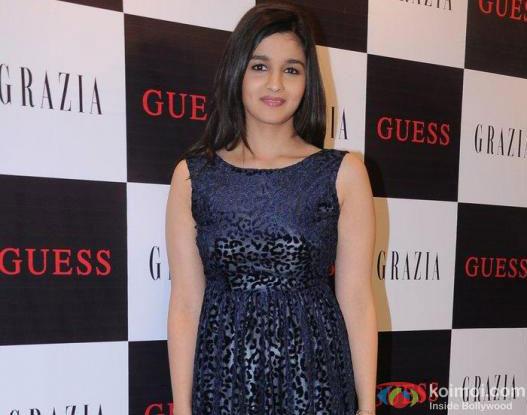 Alia Bhatt At Grazia Magazine Issue Launch