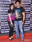 Iqbal Khan at the launch of 'Superdry'