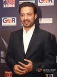 Bollywood actor Irrfan Khan at the CNN-IBN Indian of the Year 2012 awards in Delhi