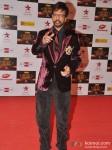 Javed Jaffrey walk the Red Carpet of Big Star Awards