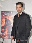 Karan Johar Launches Amish's 3rd Book 'The Oath of the Vayuputras' Pic 2