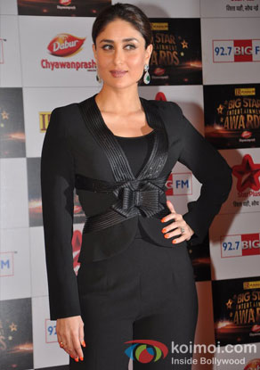 Kareena Kapoor At Big Star Entertainment Awards 2012