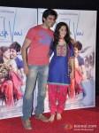 Kartik Tiwari And Nushrat Bharucha At 'Akaash Vani' Movie Trailer Launch Pic 1