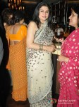 Kiran Juneja At Shatrughan Sinha's Dinner in Honour of Kokilaben Ambani Hospital Doctors