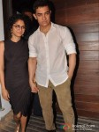 Kiran Rao And Aamir Khan At Imran Khan's House Warming Bash