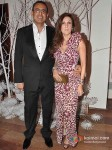 Laila and Ricky Lamba at Ensemble on the 25th anniversary of India's first multi designer store in Mumbai