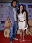 Leander Paes And Puja Bose At Rajdhani Express Music Launch Pic 1