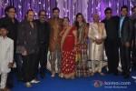 Leslie Lewis, Hariharan, Shaan at Wedding Reception of Classical Singer Ustad Ghulam Mustafa Khan`s son Rabbani and Namrata at Hotel JW Marriott in Juhu, Mumbai