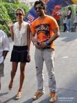 Lisa Haydon And Rannvijay Singh at Red Bull race