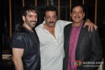 Luv Sinha And Sanjay Dutt At Shatrughan Sinha's Dinner in Honour of Kokilaben Ambani Hospital Doctors Pic 2
