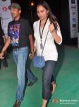 Mahesh Bhupathi And Lara Dutta at Gun N Roses concert